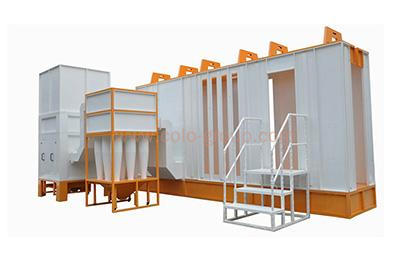 Multi Cyclone Powder Coating  Spraying System Booths