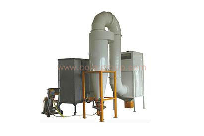 COLO Mono Cyclone Manual Powder Spray Booth
