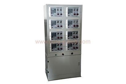 Auto control panel for powder coating system