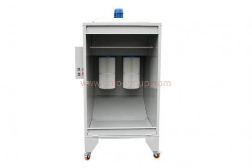 COLO-1115 Small Powder Coating Spray Booth