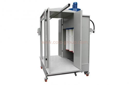 COLO-2152 Pass Through Powder Spray Booth