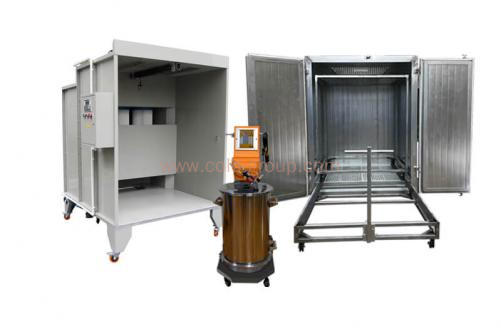 Manual Powder Coating Equipment Package for Small Parts