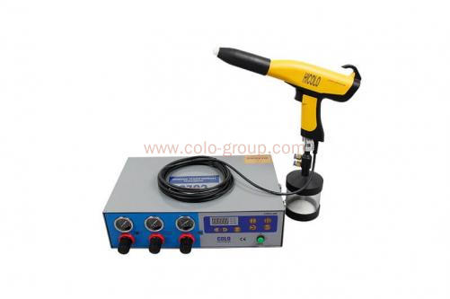 COLO-660T-08C Mini Powder Coating Cup Gun for Laboratory and Powder Testing