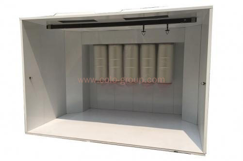 COLO-3217 Walk-in Powder Booth for Heavy Part
