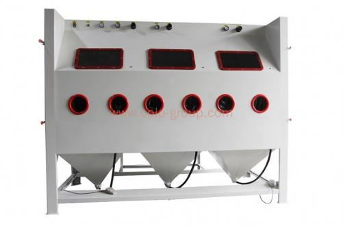 Multi-station Large Blast Cabinet