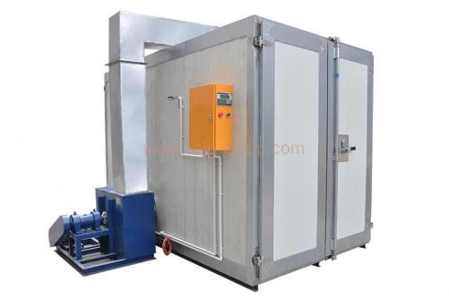 COLO-1645 Big Electric Powder Coating Oven (width1.4*depth4.5*height1.65m)