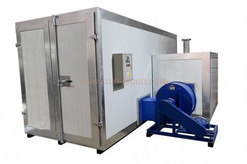 Gas/Diesel Powder Coating Large Oven