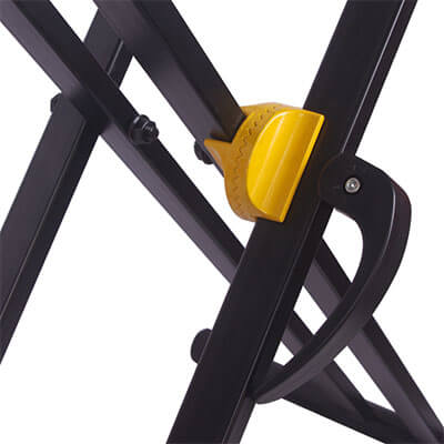 Double X Keyboard Stand Gear Lock