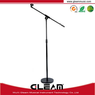 Single Head Round Base Standard Microphone Stand