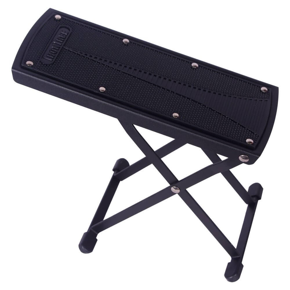 IronTree Guitar Foot Stool Footrest with Carrying Bag