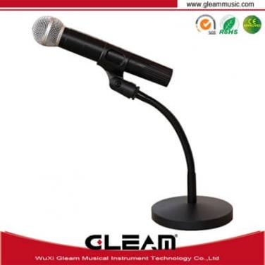 Tube On Table Microphone Stand
