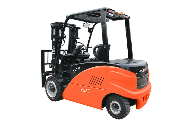 4-5T 4-wheel Electric Forklift