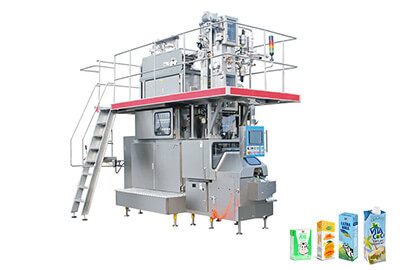 JB-6000 Aseptic Brick Carton Aseptic Filling Machine for 100ml - 330ml