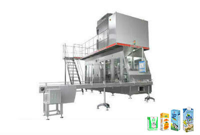 JB-6000-1000 Aseptic Brick Carton Filling Machine for 500ml-1000ml