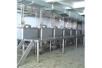 Square High Speed Emulsification Tank