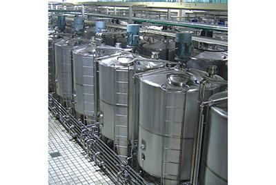 Round High Speed Emulsification Tank