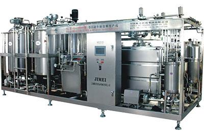 The Small Scale Milk,Yoghurt,Juice Combined Production Line