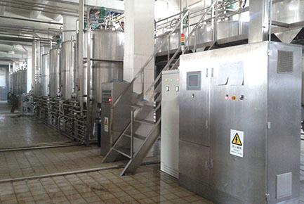 Condensed Milk Processing Line