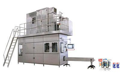 JB-2000 aseptic brick carton filling machine for 500-1000ml