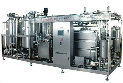 The Small Scale Milk, Yoghurt, Juice Combined Production Line