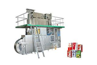 JB-4000 Aseptic Brick Carton Aseptic Filling Machine for 100 - 330ml