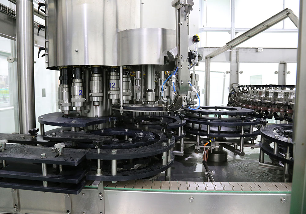 Glass Bottle Packaging Line