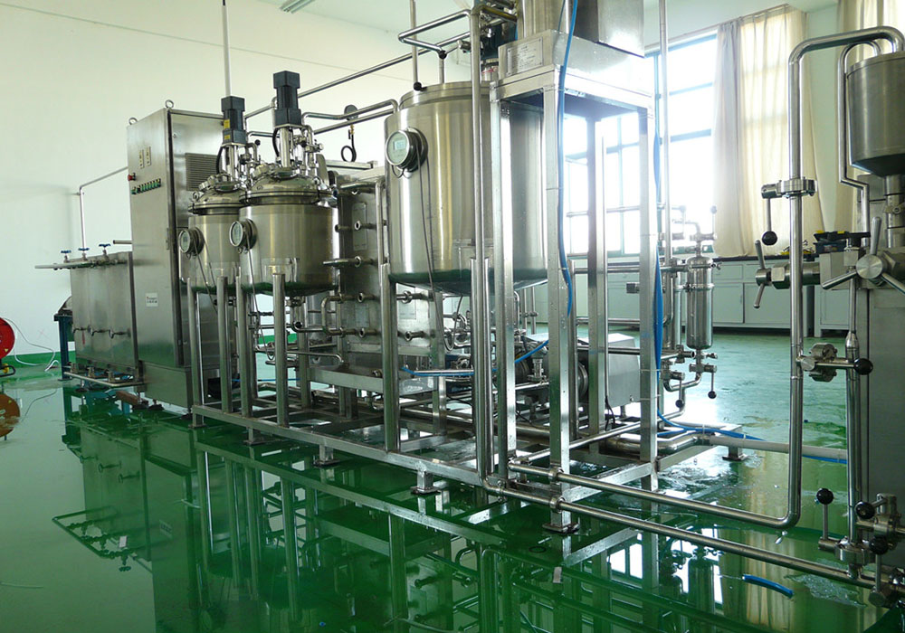 Pilot Plant for Dairy
