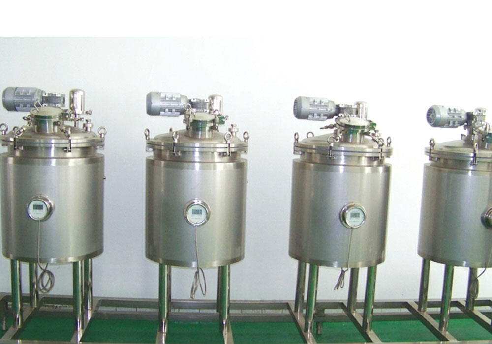 Pilot Plant for Phytoextraction Beverage Line