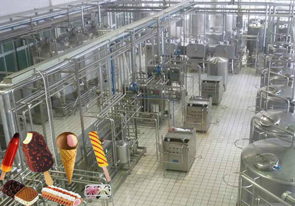 Ice Cream Production Line