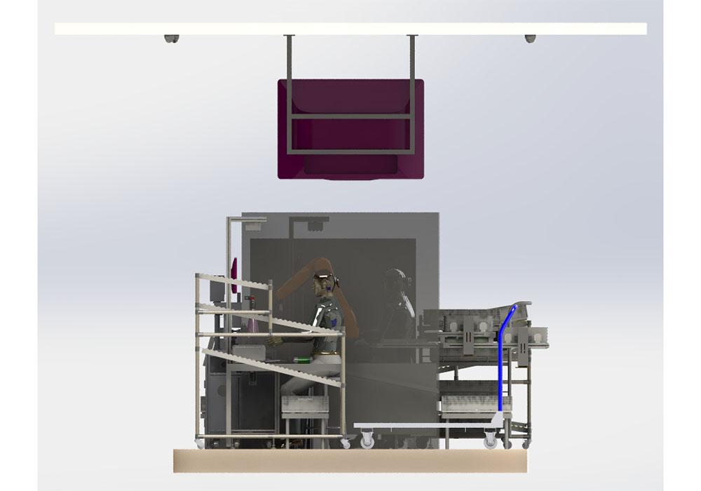Automobile Sensor Digital Assembly Production Line