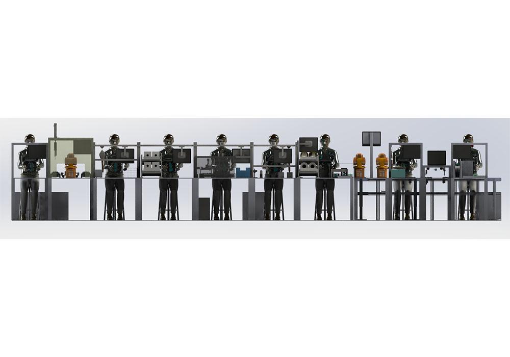 Current Sensor Digital Assembly Production Line