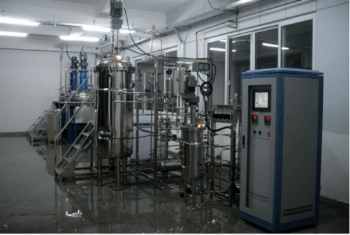 Secondary pilot fermentation equipment