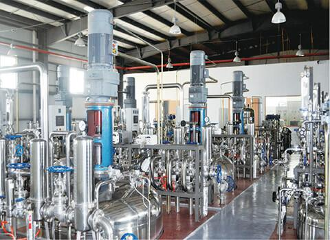 Multistage scale fermentation equipment