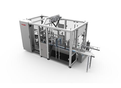 Top-entry packing machine
