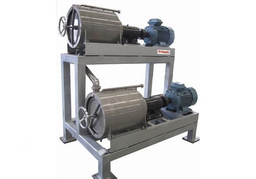 Máquina de deshuesado, pulpa y refinado