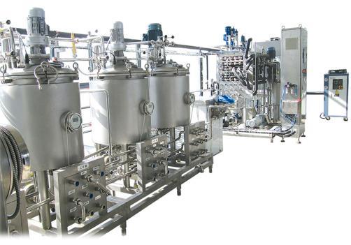 Planta piloto para productos lácteos
