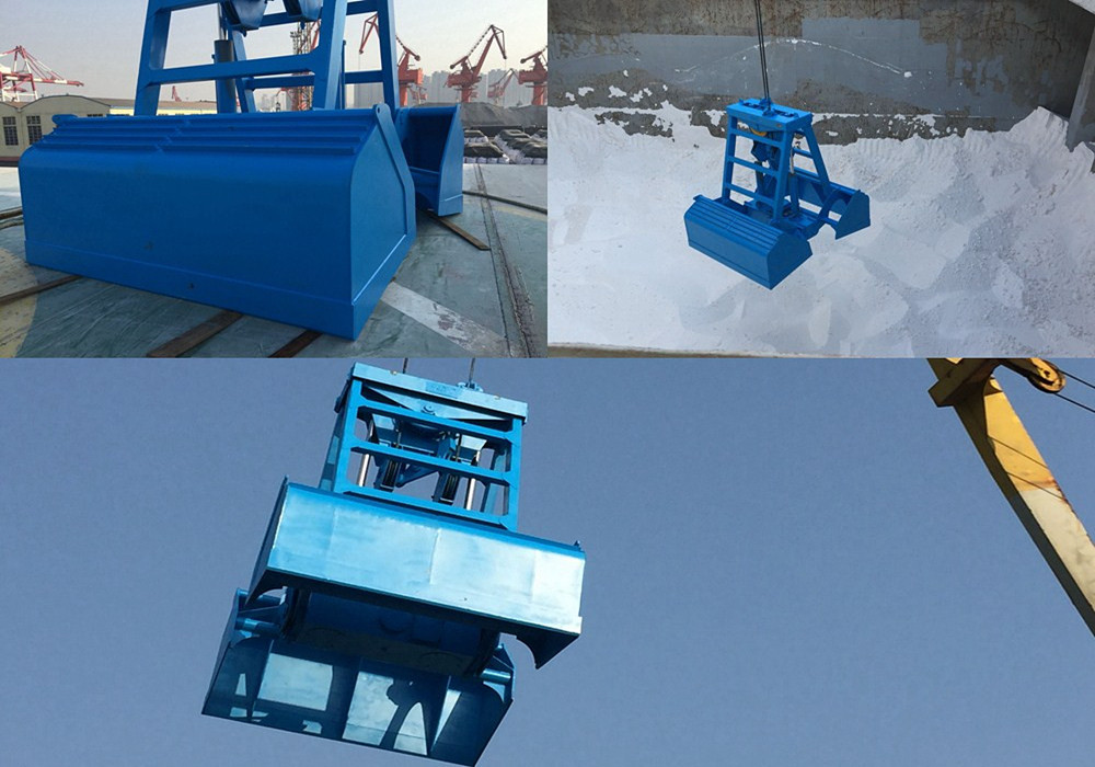 Remote Control Grab in Qingdao Port