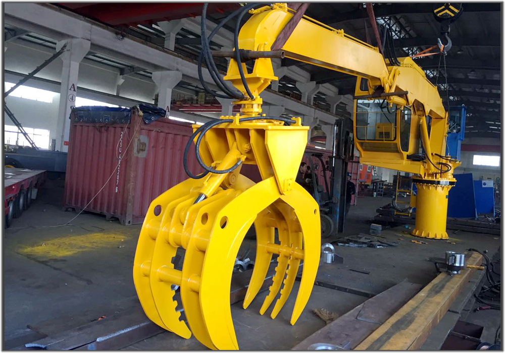 8M -3T Stationary Crane for Gas Tin