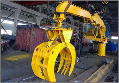 FIXED TYPE MATERIAL HANDLER CRANE