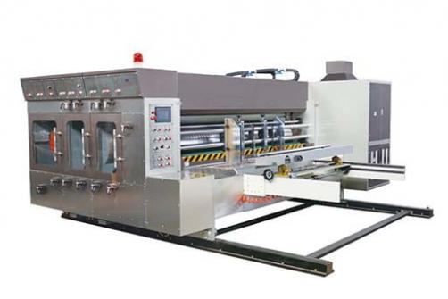 PRY-D Automatic Flexo Printing Slotting Die-cutting Machine