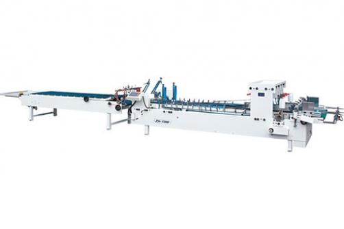 HS-1100 1200 1300 Automatic Large Straight Line Box Folder Gluer(corrugated)