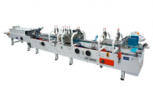 ZH-600G 700G 800G Automatic Muti-functional Crash Lock Bottom Folder Gluer