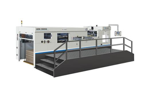 AEM-1500SQ Fully Automatic Die Cutting with Stripping Unit