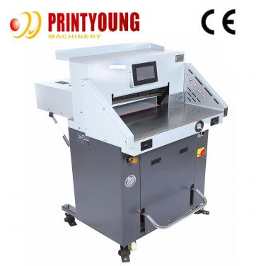 FN-H490T V7 Automatic Hydraulic Guillotine Paper Roll  Cutting machine for paper  pizza Eyelash box and paper board