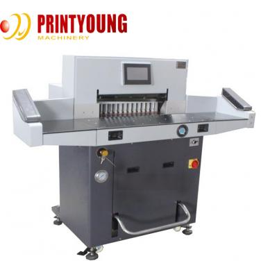 FN-H720RT Automatic High speed PLC control Guillotine Paper Roll  Cutting machine for paper  Eyelash box and cardboard