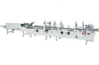 ZH-600A 700A 800A Automatic Folder Gluer with Pre-fold