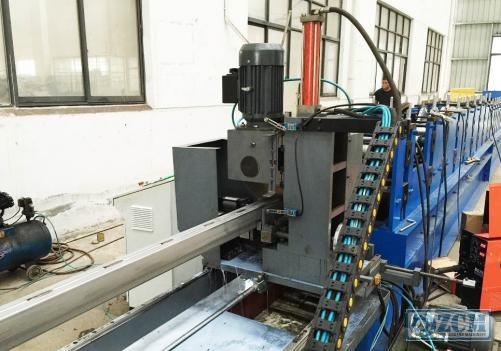 Pallet Rack Beam Roll Forming Machine
