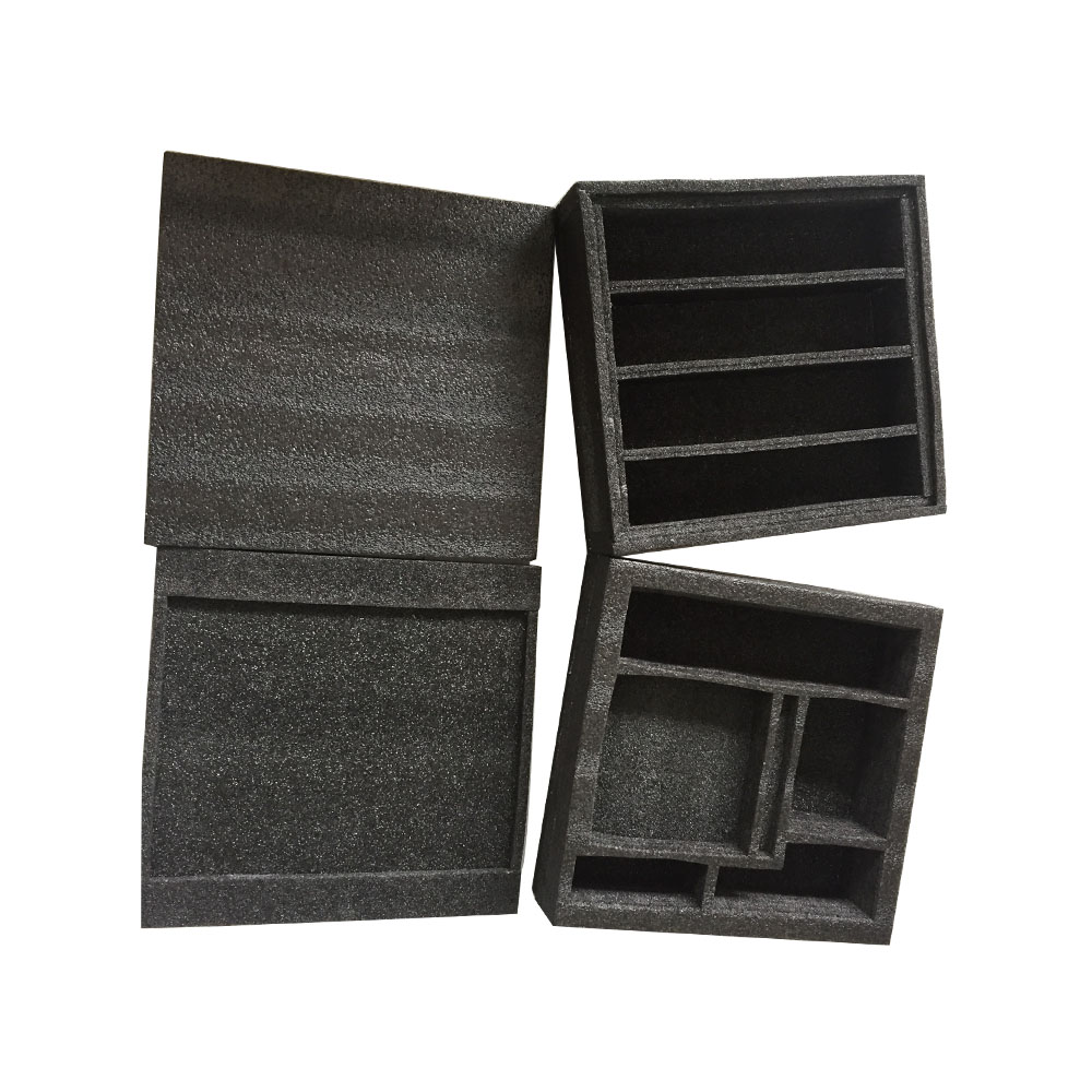 White and Black EPE Foam Polyethylene Foam