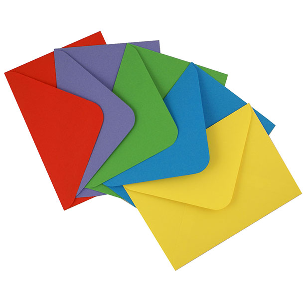 Color Paper Envelope