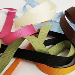 Bag ribbon handle